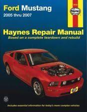 2005 ford mustang repair manual mustang ford car manuals literature ebay