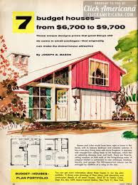 American Small House 7 Budget Small House Designs 1956 Click Americana