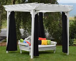 5 Ft Patio Swing With Cedar Pergola Create by Red Cedar Pergola From Dutchcrafters Amish Furniture