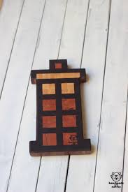 how to make a tardis end grain cutting board handmade with ashley i m linking up to