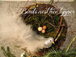 rachel u0027s nest bird u0027s nest tree topper