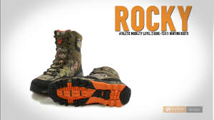 rocky athletic mobility level 2 gore tex hunting boots