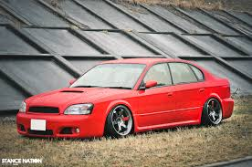 slammed subaru legacy from japan with fitment subaru legacy b4 blitzen