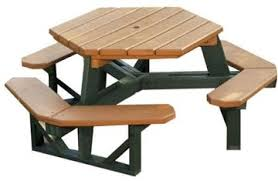 recycled plastic picnic tables commercial plastic picnic tables