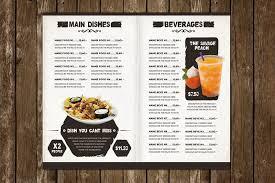 29 delicious menu templates for restaurants u0026 cafes