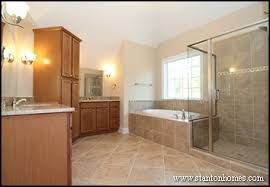 Master Bath Storage Cabinet Ideas Design Build Homes In NC - Floor to ceiling cabinets for bathroom