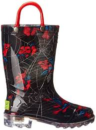 light up rain boots western chief spider man swing light up rain boot little