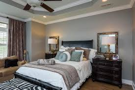 Ceiling Light Crown Molding by Traditional Master Bedroom With Crown Molding U0026 Flush Light In