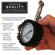 tiretek premium tire pressure gauge 60 psi 14 97