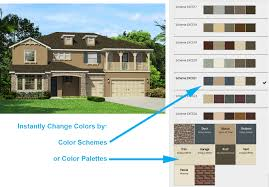 virtual exterior home design tool color tool rendering house