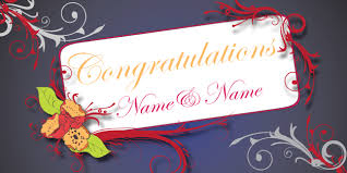 Wedding Congratulations Banner Banner Templates Occasions County Banners