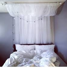 Sheer Bed Canopy Ikea Bed Canopy Curtains Sheer White 2 Panels Bed Canopy Room Ikea