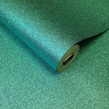 Sparkle Wallpaper by Muriva Teal Glitter Wallpaper