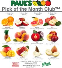 fruit of the month of the month club paul s fruit