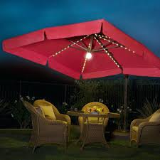 Milano Patio Furniture by Bohemian Patio Furniture Milano Pro 10 Square Lighted Offset