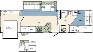 Forest River 5th Wheel Floor Plans 2008 Forest River Wildcat 32qbbs Fifth Wheel Th Riceville Ia
