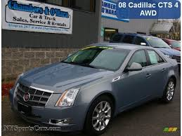 2008 cadillac cts 4 2008 cadillac cts 4 awd sedan in sunset blue 128689