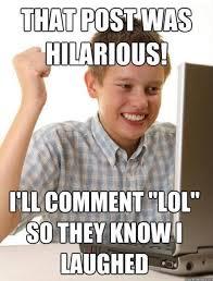Biggest Internet Memes - biggest facebook pet peeve ever don t comment unless you have