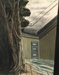 chambre dans les arbres arbres dans la chambre equinoxe by giorgio de chirico on artnet