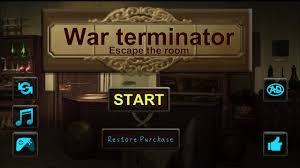 war terminator escape the room game walkthrough with puzzle