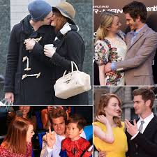 andrew garfield and emma stone u0027s cutest pictures popsugar celebrity