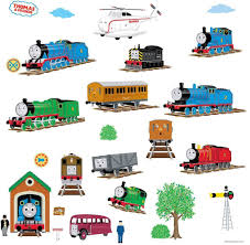 Thomas Tank Engine Friends Peel Stick Wall Decals