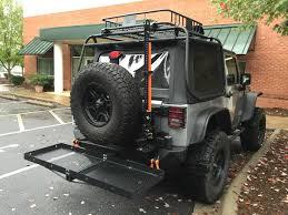 Rightline Gear Car Clips by Sema Show Jeep Build Curt Cargo Racks Rightline Gear