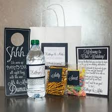 hotel welcome bags wedding welcome bag overview this listing is for a welcome bag