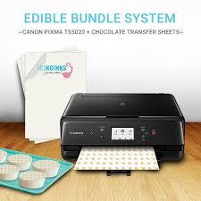 edible printing system edible printer to print on chocolate transfer sheets chocolate