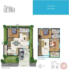 Antilla Floor Plan by Apr Pranav Antilia 3 Bhk Premium Duplex Villas For Sale