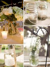 Wedding Decoration Ideas Mason Jar Ideas For Weddings Weddings By Lilly
