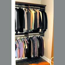 wardrobes double hang closet rod australia songmics portable