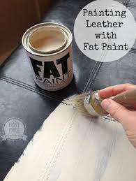 Painting A Leather Sofa Painting Leather With Chalk Paint By Annie Sloan Part 2