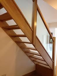 best 25 oak handrail ideas on pinterest glass stair railing