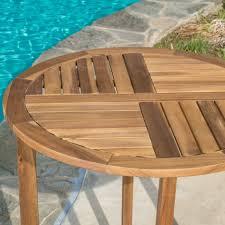 coronado rectangular dining table coronado square patio table outdoor piece acacia wood bistro set
