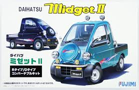 fujimi id 114 daihatsu midget ii r type or d type 1 24 scale