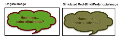 Color Blindness Simulator Inclusivity Gestalt Principles And Plain Language In Document
