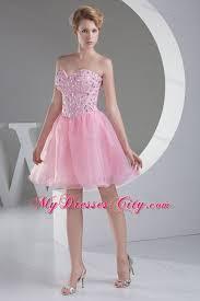 light pink graduation dresses beading light pink princess short organza prom homecoming dress