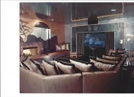 contemporary media room with u201cglass u201d ceiling kmonteirodesign