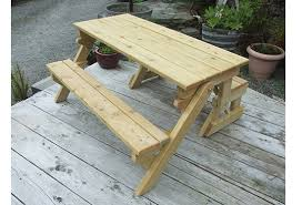 Folding Picnic Table To Bench Folding Picnic Table Bench The Beara Chair
