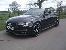 black audi convertible audi a5 3 0tdi sline quattro convertible black fully loaded and