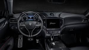 ghibli maserati interior 2018 maserati ghibli luxury sports car maserati usa