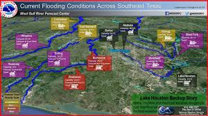 houston map flood addicks barker reservoirs at record levels flood threat for