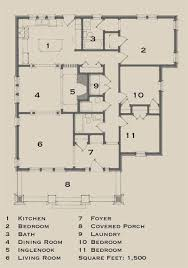 Floor Plan 4 Bedroom Bungalow Best 25 Bungalow Floor Plans Ideas Only On Pinterest Bungalow