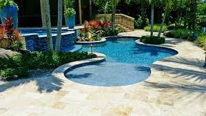 aquascapes pools pool and deck concepts venetian travertine in mediterra