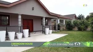 Bedroom House 3 Bedrooms House Available At Tesano In Accra Youtube