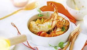 cuisiner queue de langoustes crues surgel馥s 2 queues de langouste blanche caraïbes crues surgelés les