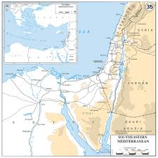 Elevation Map Of Florida by Maps Of Israel Detailed Map Of Israel In English Tourist Map