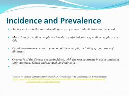 Blindness In The World Onchocerciasis River Blindness Ada C Quiñones Mph Student