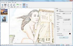 gallery convert a photo to a sketch drawing art gallery